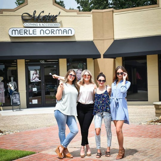 Shop girls at Merle Norman Cosmetics & Moire' Clothing & Accessories