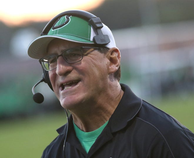 Clear Fork's Dave Carroll won his 200th career game as a head football coach when his Colts defeated Ontario 54-14 on Friday night.