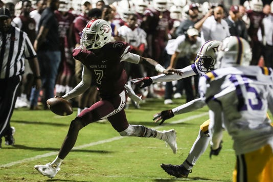 horn lake covington football in finals olive branch eliminated