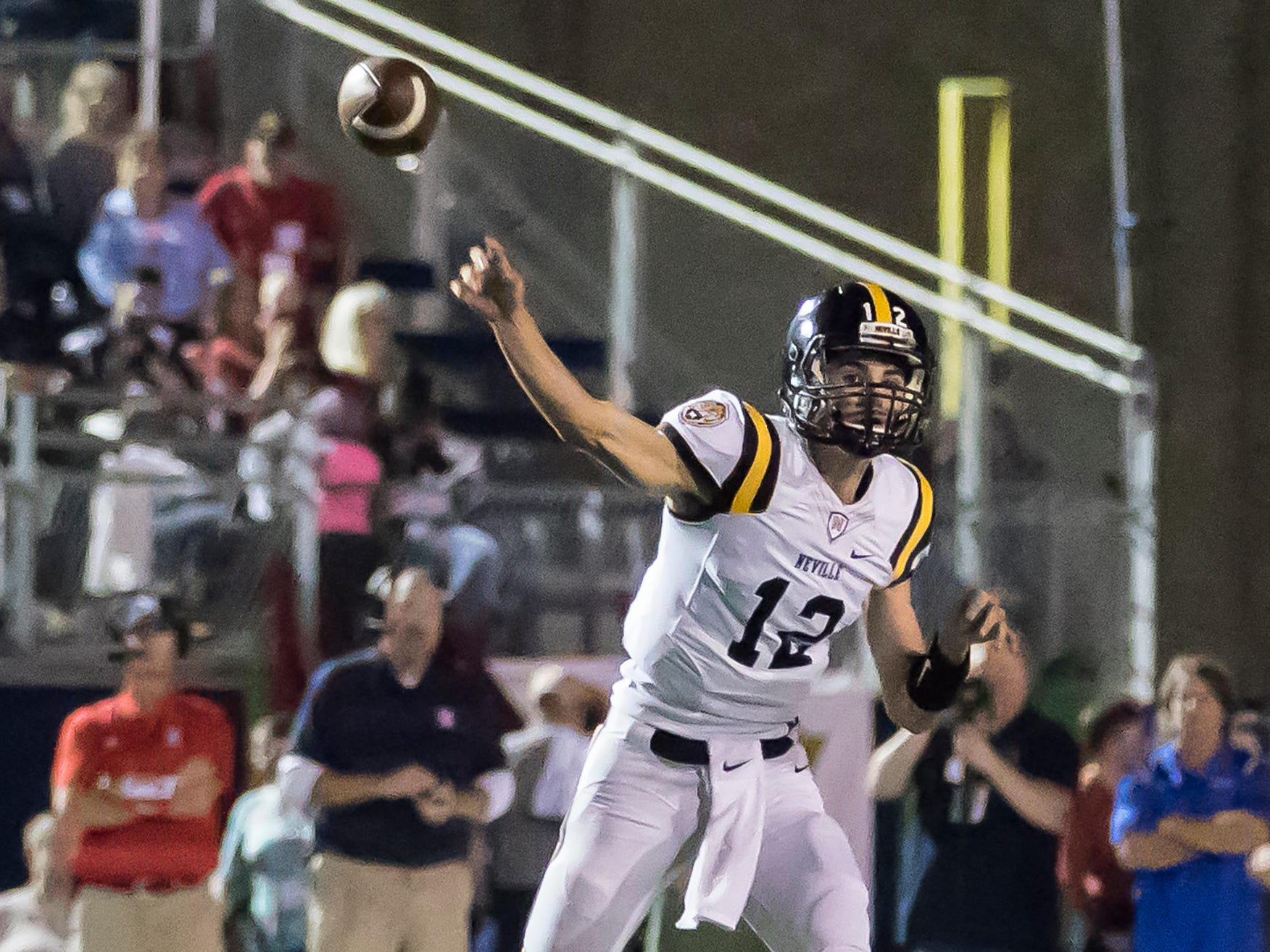 West Monroe defeated Neville 29-14 at Don Shows Stadium at West Monroe High School in West Monroe, La. on Sept. 28.