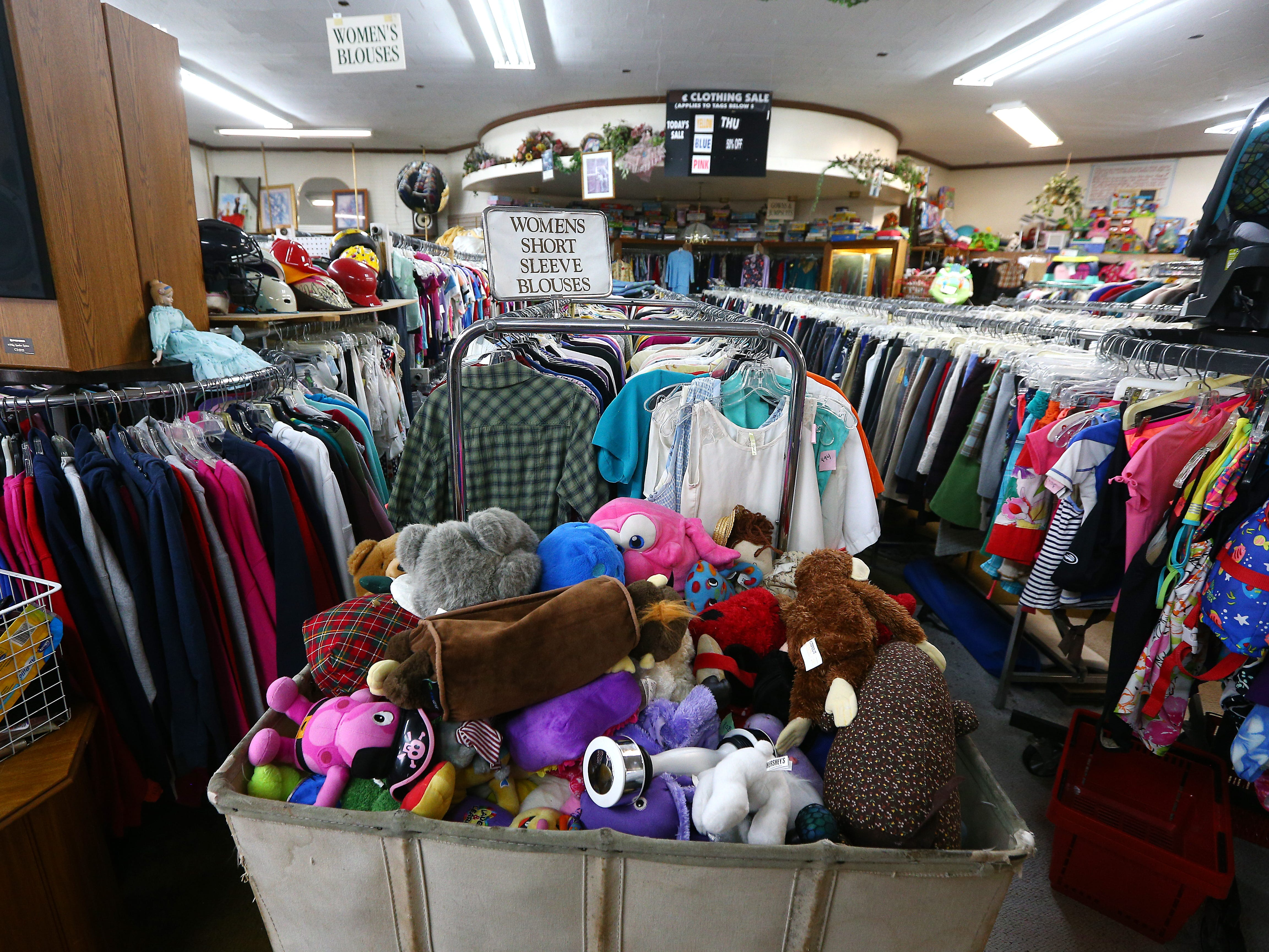 The Morris Thrift Store in Dover, open for 40 years will close at the end of the year.The most recent owner Stan and Maria Bush are retiring and have sold it, the new owner will not keep it as a thrift store. September 28, 2018, Dover, NJ