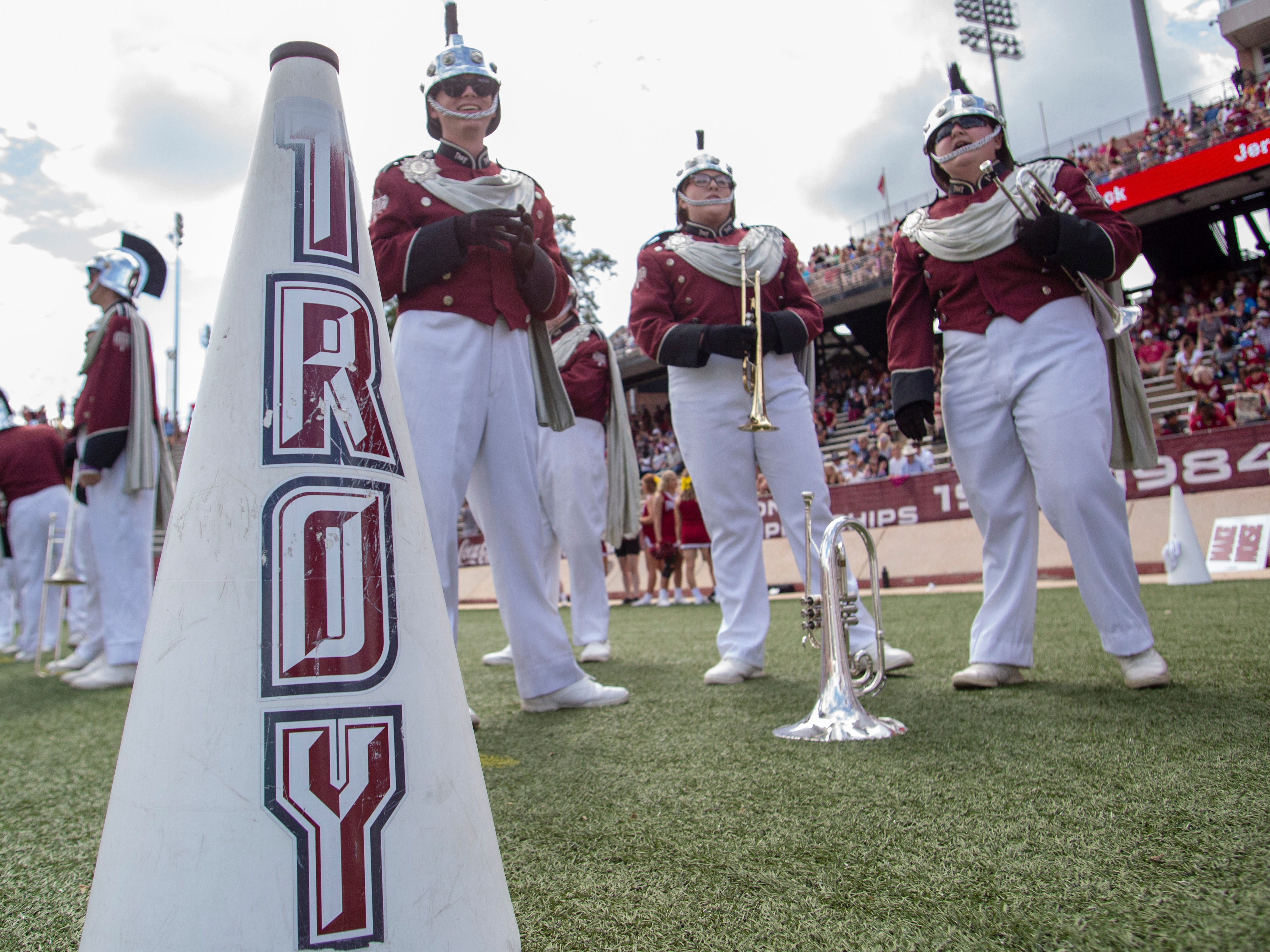Troy took on Coastal Carolina at home in the fifth round of college football.