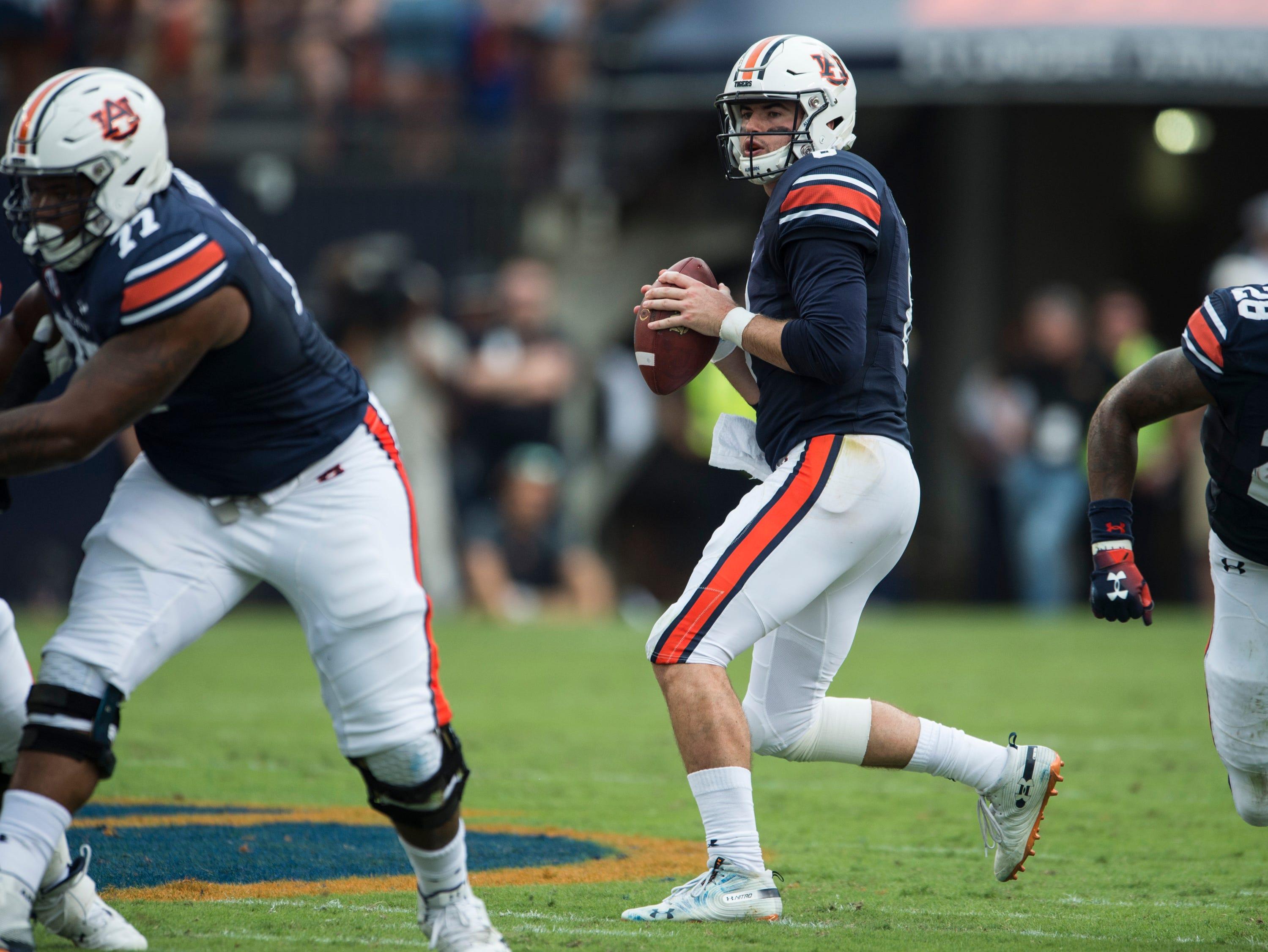 Jarrett Stidham goes deep to help Auburn avoid a face ...
