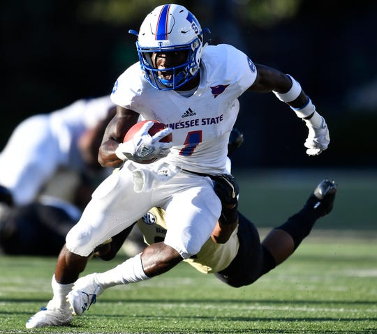 TSU wide receiver Steven Newbold hopes to bounce back from his injury-plagued sophomore year.