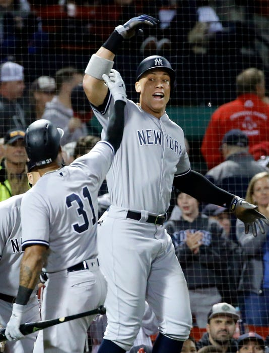 Aaron Judge Aaron Hicks