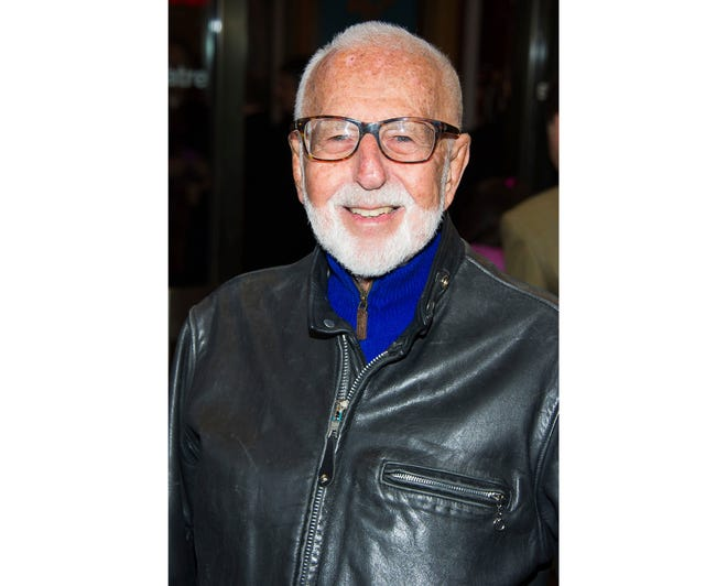"""In this March 12, 2015 file photo, Joe Masteroff attends the opening night performance of Broadway's """"On the Twentieth Century"""" in New York. Masteroff, the Tony Award-winning story writer of the brilliant, edgy musical """"Cabaret"""" and the touching, romantic """"She Loves Me,"""" has died at age 98. The Roundabout Theatre Company, which produced recent revivals of his best-loved shows, said Masteroff died Friday, Sept. 28, 2018, at the Actors Fund Home in Englewood, N.J. (Photo by Charles Sykes/Invision/AP, File)"""