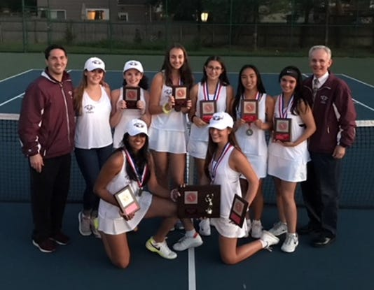 Wayne Hills girls tennis