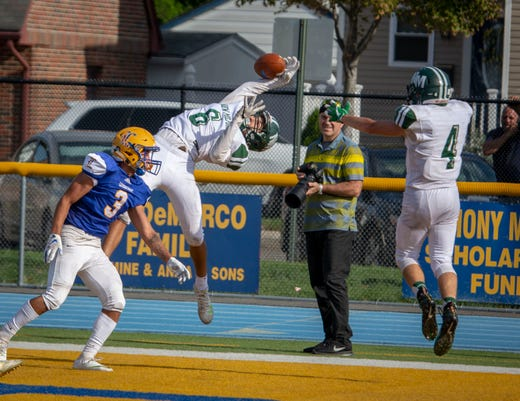 New Milford Hs At Lyndhurst Hs Varsity Football