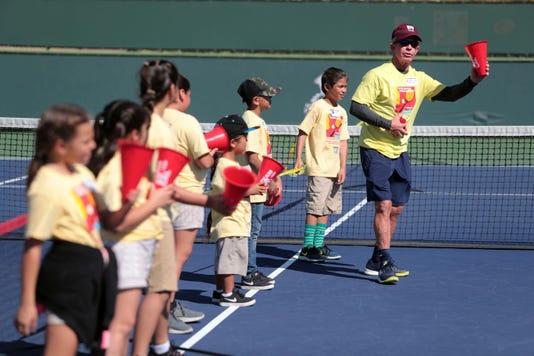 Rosie Casals Tennis Camp003