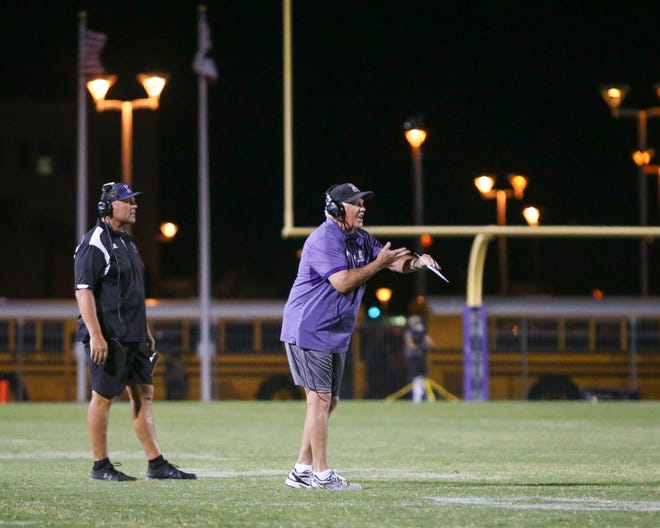 The Shadow Hills varsity football team lost Friday's home conference game against Palm Desert (CA) by a score of 26-14.