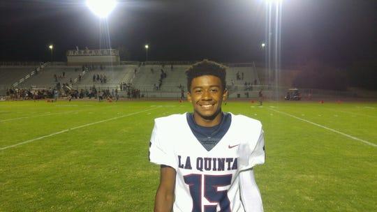 Michael Smith, La Quinta High School