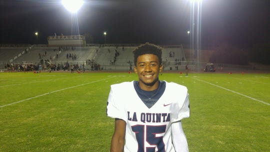 Michael Smith, La Quinta High School