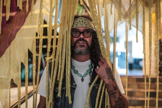 Brant Bjork at his home studio in Twentynine Palms on Wednesday, September 26, 2018.