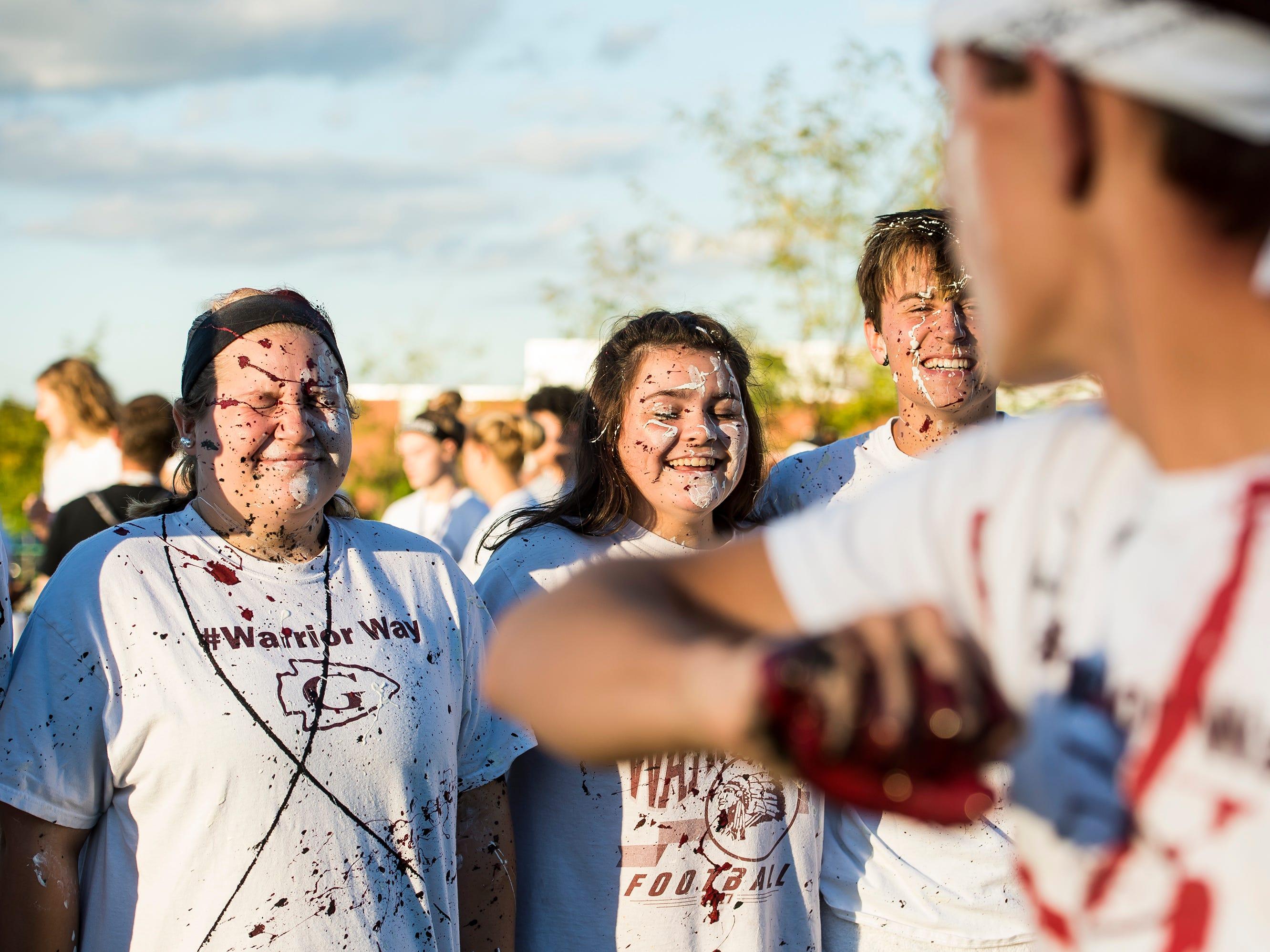 "Photos: Gettysburg students hold ""splatter-fest"" to benefit Mini-THON"