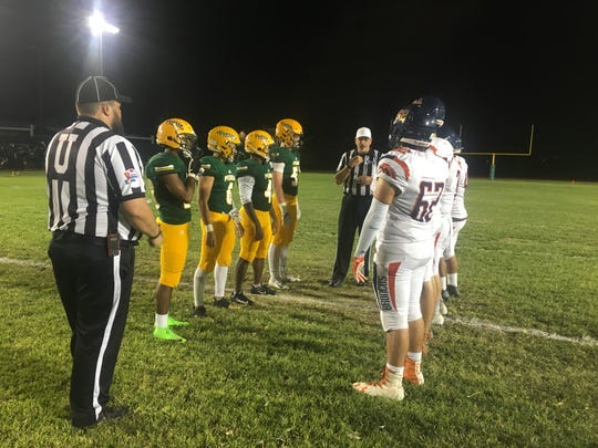 In its homecoming game, Peoria beat Poston Butte 35-14 on Friday, Sept. 28.