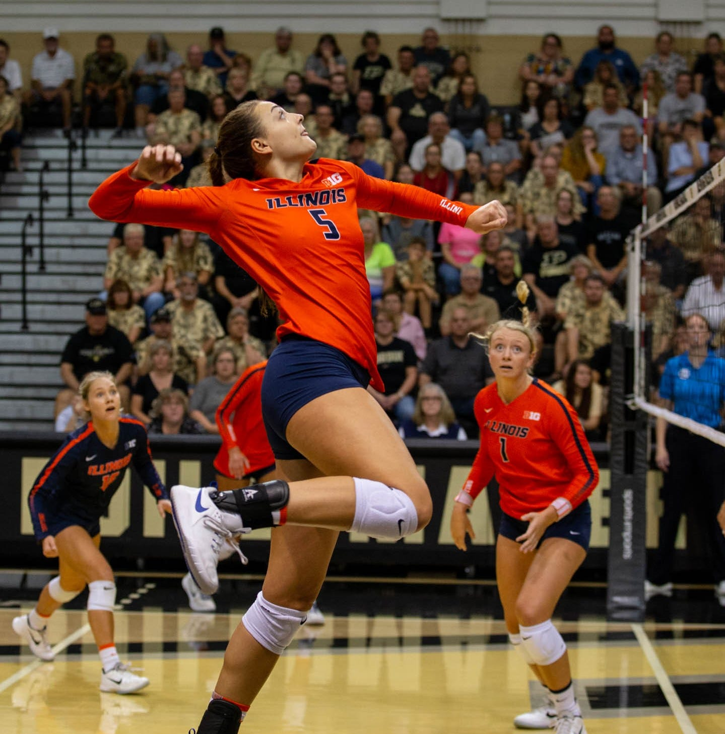 Marysville grad Bastianelli cherishes final volleyball season