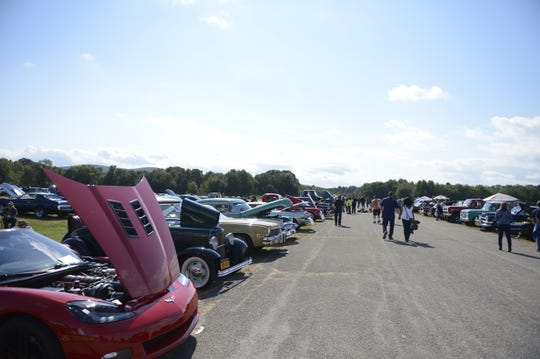 A car show hosted by Don Clady was put on Saturday as part of the second annual Wine, Cider and Food Truck Festival at Stormville Airport.