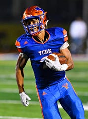 York High's Tobee Stokes received his first Division I offer from Football Championship Subdivision Illinois State on Tuesday. DISPATCH FILE PHOTO