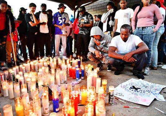 Dezmen Jones Candlelight Vigil