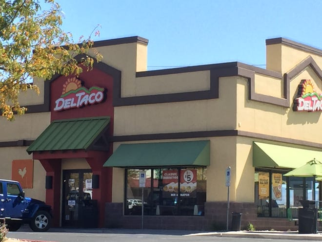 Del Taco, the Mexican chain, is testing its Breakfast Toasted Wrap in four Reno restaurants, two in Sparks and two in Carson City.