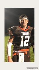 Evynn Short, National Trail football