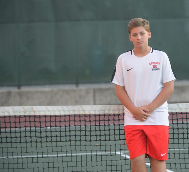 Kyle Hollingsworth, a Richmond High School sophomore, has suffered multiple seizures, but has overcome them to help the Red Devils win a fifth consecutive sectional championship.