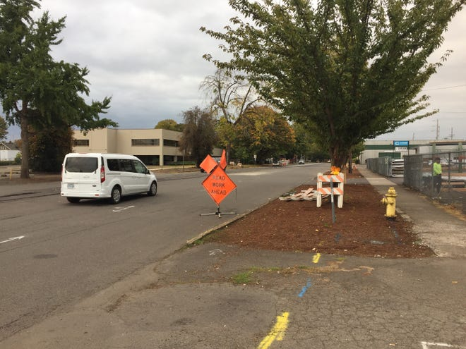 This section of Front Street in Salem will be closed Oct. 1 through 14 for repairs.