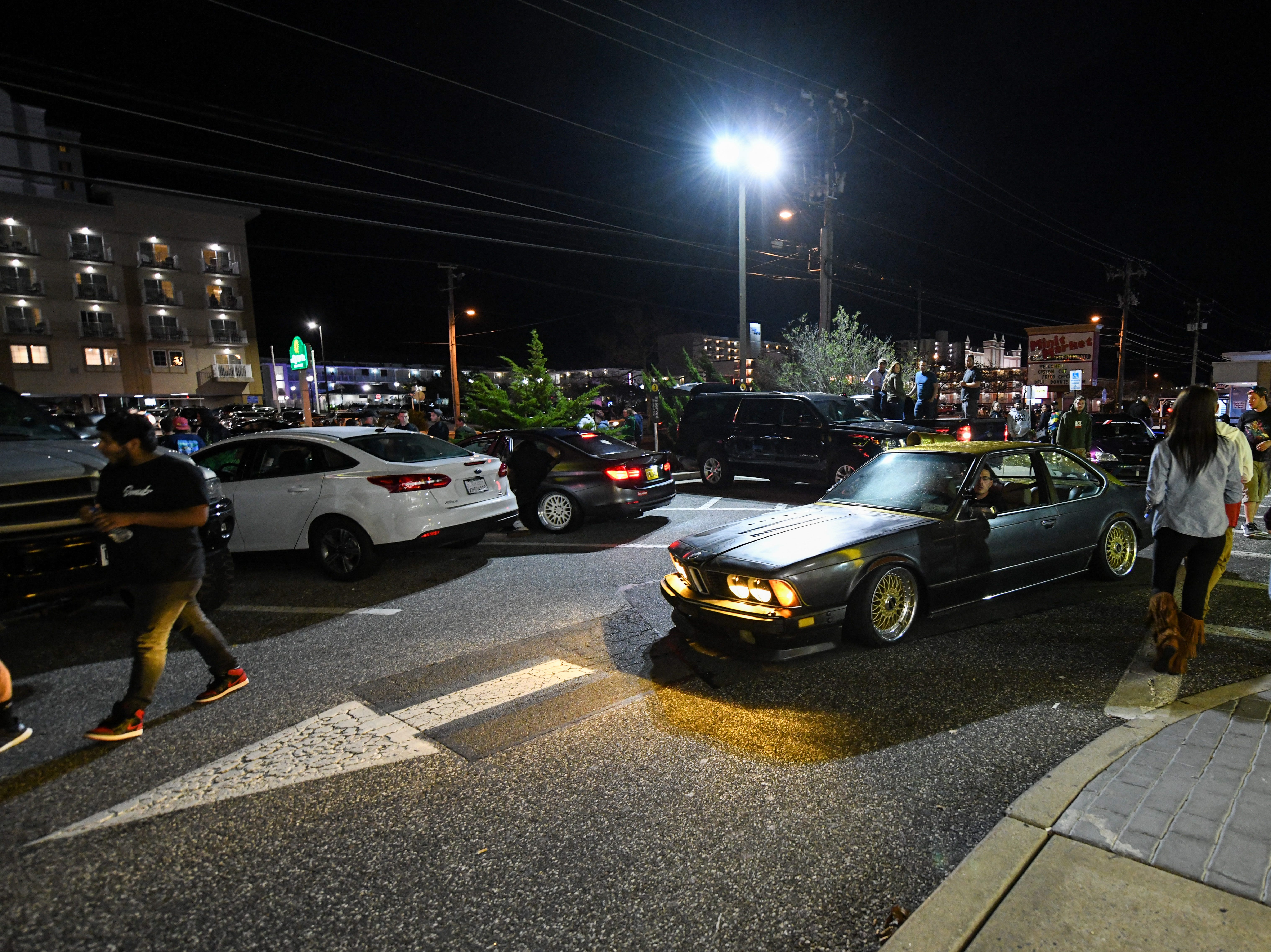 The streets of Ocean City were full of cars, crowds and a heavy police presence on Friday, Sept 28, 2018. Popular car show H2Oi  was traditionally held nearby and though it has now moved to Atlantic City attendees continue to flock to Ocean City.