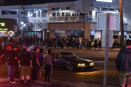 The streets of Ocean City were full of cars and crowds on Friday, Sept 28, 2018. Popular car show H2Oi  was traditionally held nearby and though it has now moved to Atlantic City attendees continue to flock to Ocean City.