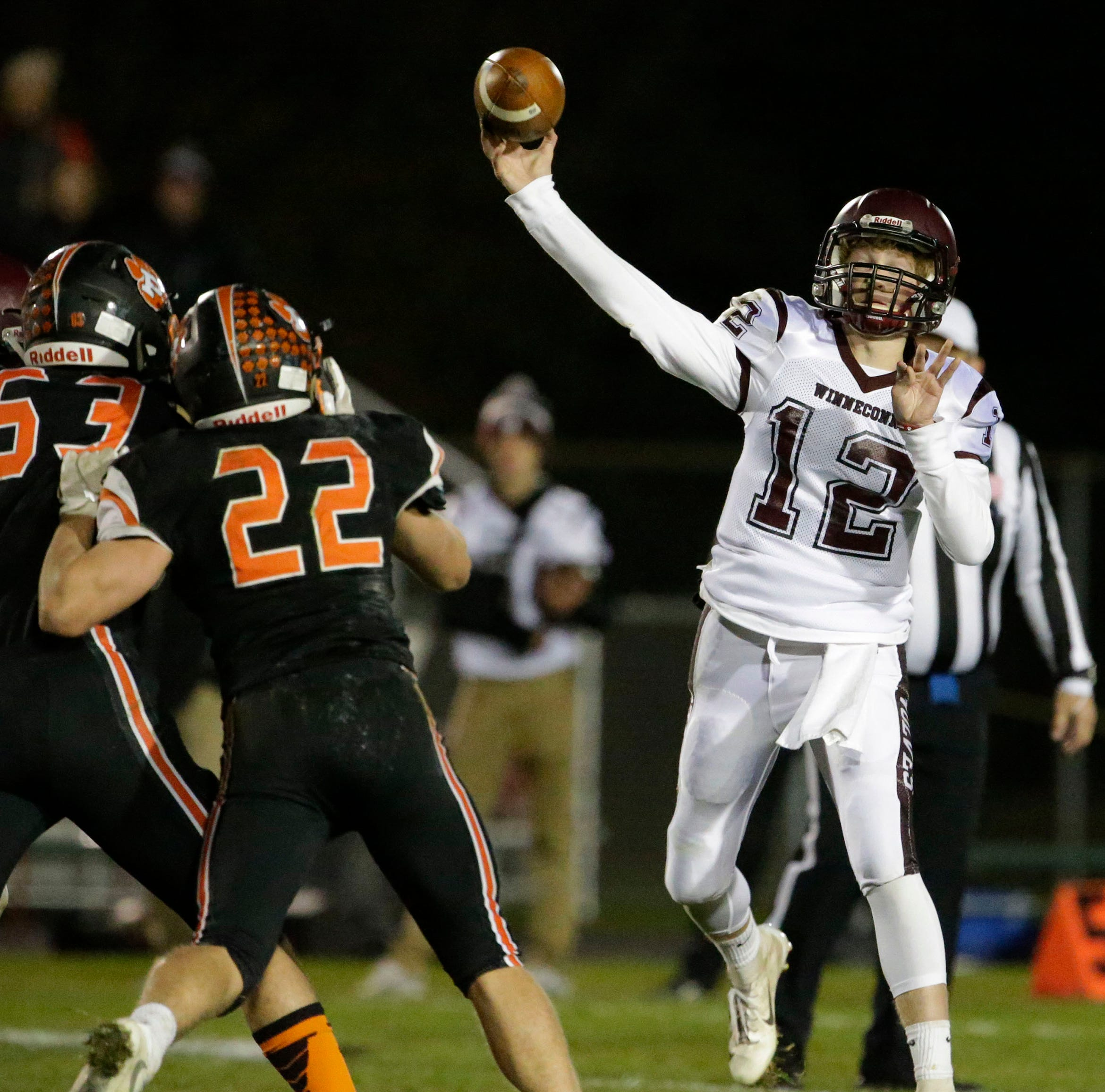 High school football: Four teams from East Central Conference in WIAA playoffs Friday
