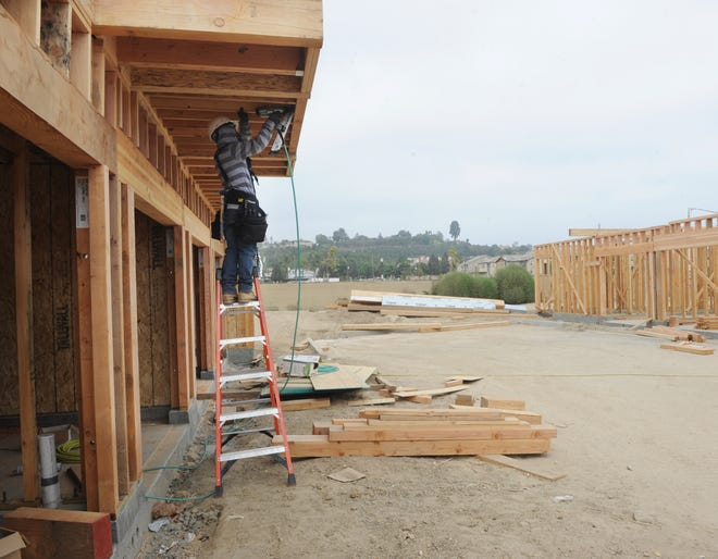 An apartment project is being built near Springville Drive and Highway 101 in Camarillo. Some believe if Proposition 10, the rent control measure on the Nov. 6 ballot, passes fewer rental units will be built in California.