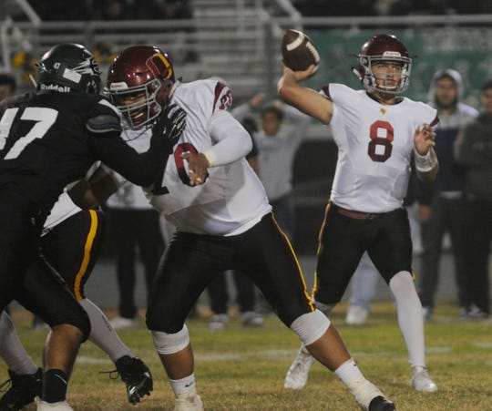Oxnard quarterback Vincent Walea was named to the All-CIF Division 6 Offensive Team.
