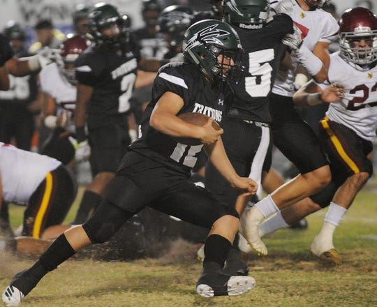 Quarterback R.J. Maria and Pacifica open the playoffs against Fullerton at Ventura College.