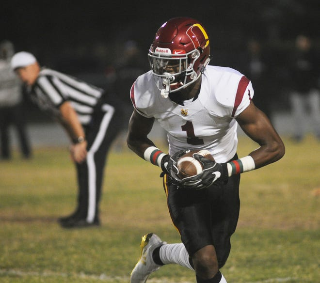 "Despite being a top player for Oxnard High's basketball team and already committed to play football at Oregon, J.R. Waters will play in Saturday's Ventura County All-Star Football Game. ""I want to go all out and give my full effort,"" Waters said."