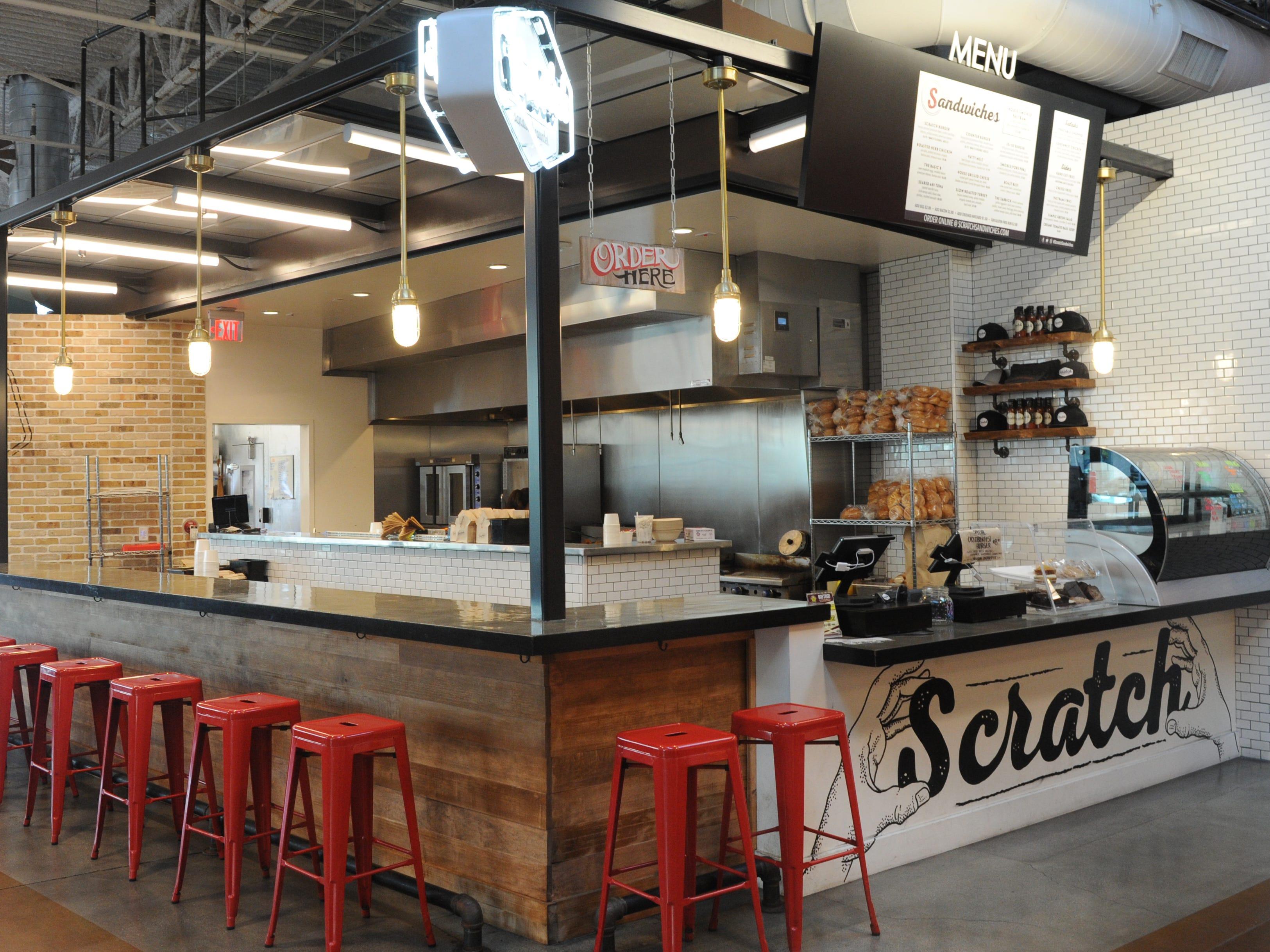 Scratch Sandwich Counter.