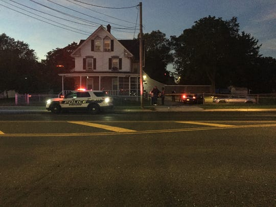 Vineland Police investigate a reported carjacking that involved a shooting Friday on West Park Avenue, near the Boulevard.