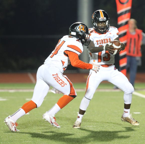 Nyack defeated Spring Valley 21-20 at Nyack High School on Sept. 28.