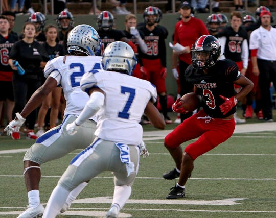 Wichita Falls High receiver Tre McKenzie is one of several talented players the Coyotes have at the position.