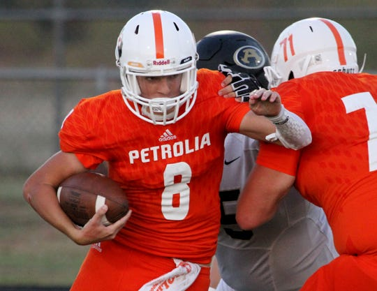Jake Tucker will play a key role for Petrolia in Mitch McLemore's first season.