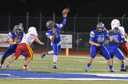 City View quarterback Isaiah Marks had a strong district opener last week against S&S Consolidated.