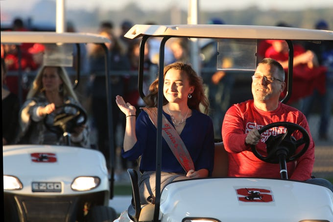 Sheridan High School held its homecoming on Friday before the football against Philo.