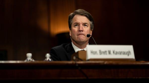 Supreme Court nominee Brett Kavanaugh testifies...