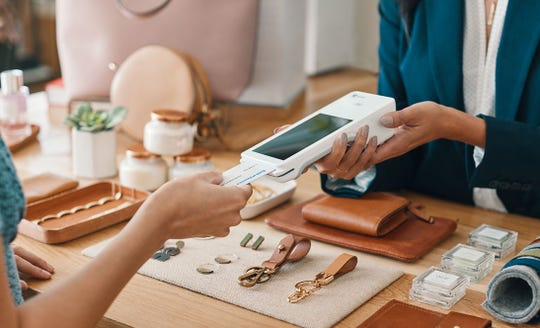 Using EMV chip-card technology at the point of sale can help small businesses reduce the risk of accepting counterfeit cards.