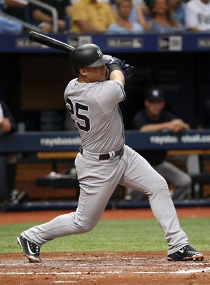 New York Yankees second baseman Gleyber Torres blasted a two-run homer to give the Yankees the record.