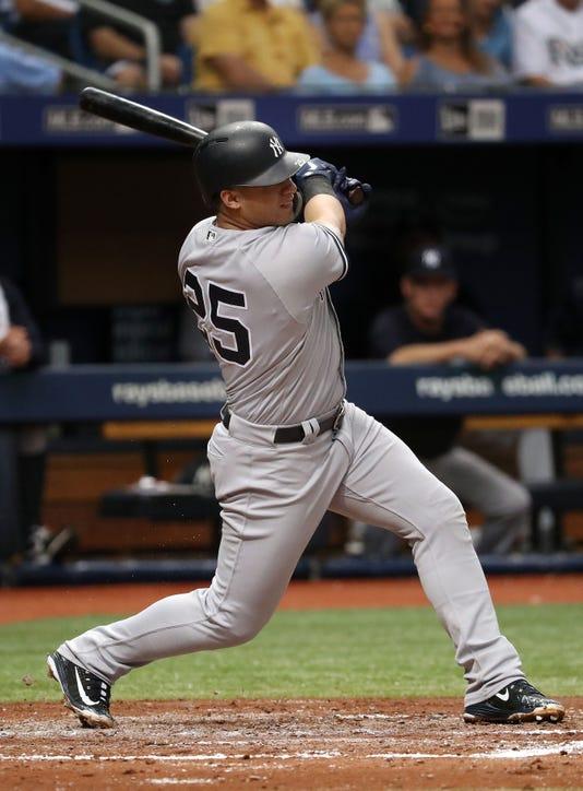 Usp Mlb New York Yankees At Tampa Bay Rays S Bba Tb Nyy Usa Fl
