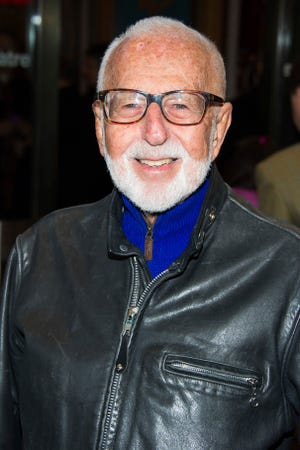 """In this March 12, 2015 file photo, Joe Masteroff attends the opening night performance of Broadway's """"On the Twentieth Century"""" in New York."""