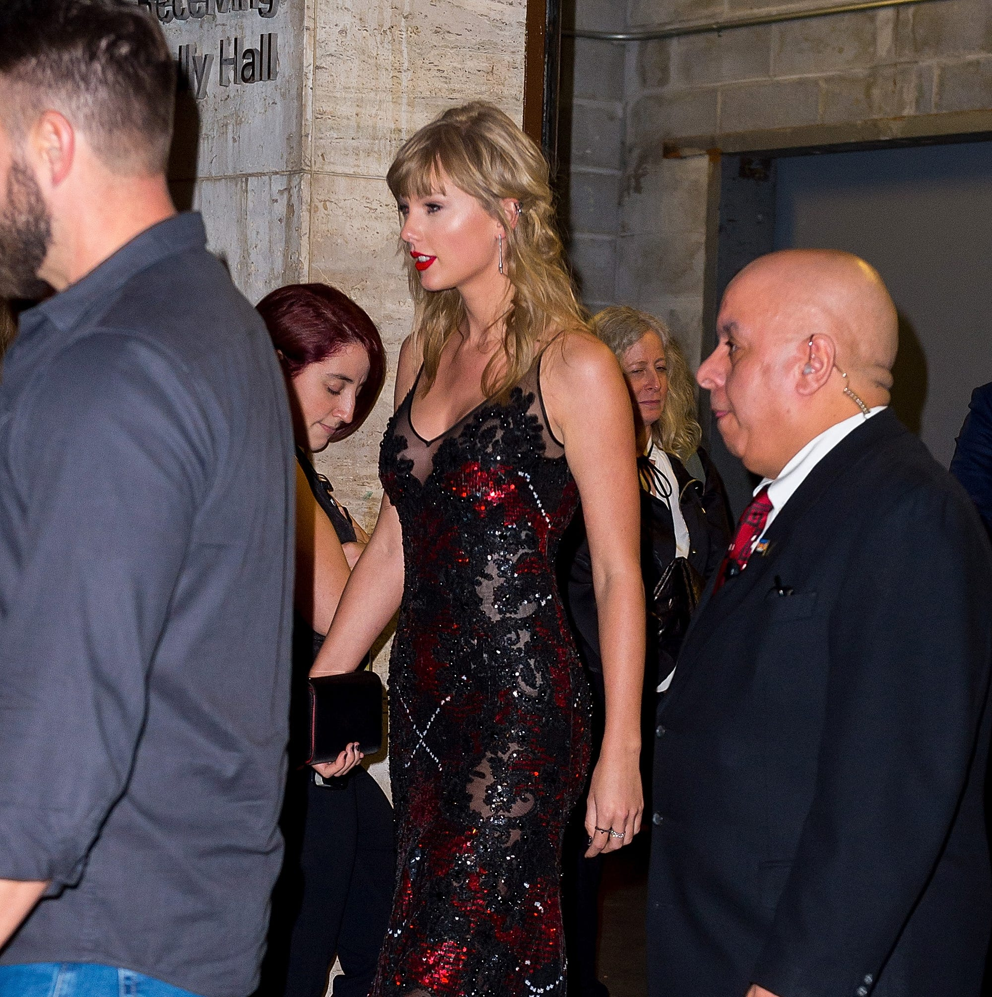 Taylor Swift is seen in the Upper West Side on Sept. 28, 2018 in New York.