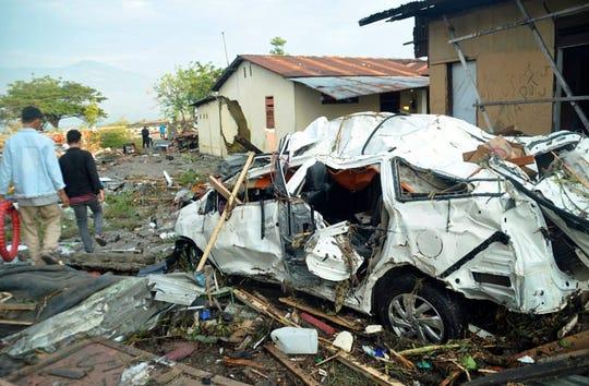 El sismo y tsunami causaron daños sin precedentes en gran parte de Indonesia.