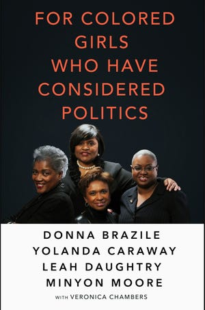 """""""For Colored Girls Who Have Considered Politics"""" book cover"""