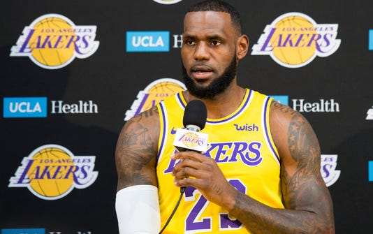 Nba Los Angeles Lakers Media Day
